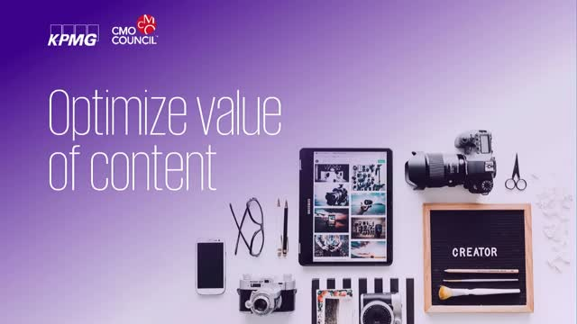 Optimize Value of Content Spend