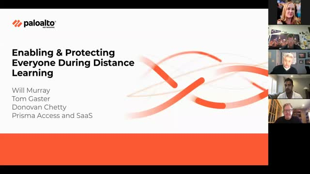 Enabling & Protecting K-12 Students, Faculty & Staff During Distance Learning