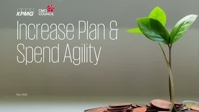 Increase Plan and Spend Agility