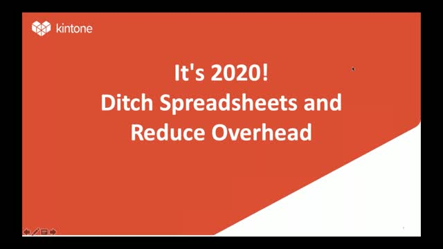 It's 2020! Ditch Spreadsheets and Reduce Overhead