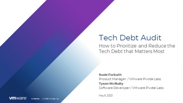 Tech Debt Audit: How to Prioritize and Reduce the Tech Debt that Matters Most