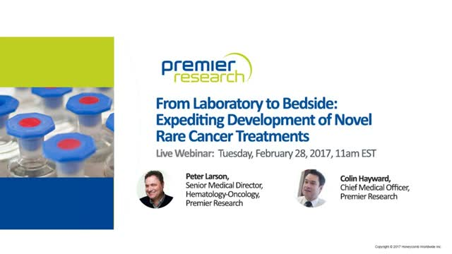 From the Laboratory to Bedside: Expediting Development of Novel Cancer Treatment