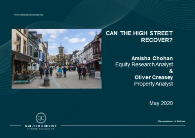 Can the high street recover?