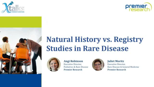 Natural History or Registry Study? Conducting Rare Disease Research