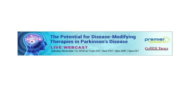 The Potential For Disease-Modifying Therapies In Parkinson's Disease