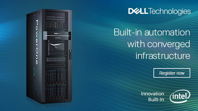 Built-in automation with converged infrastructure
