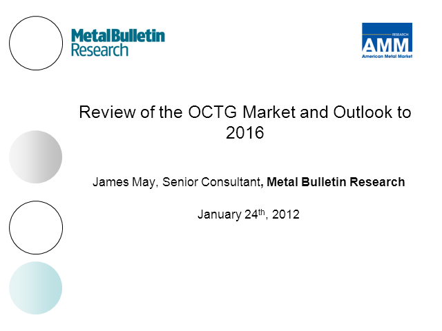 Review of the OCTG market and outlook to 2016