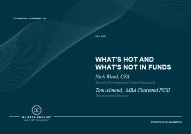 Funds – What's hot and what's not?