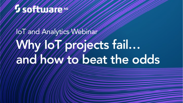 Why IoT Projects Fail – And How to Beat the Odds