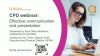 Bitesize CPD webinar: Effective communication and presentation