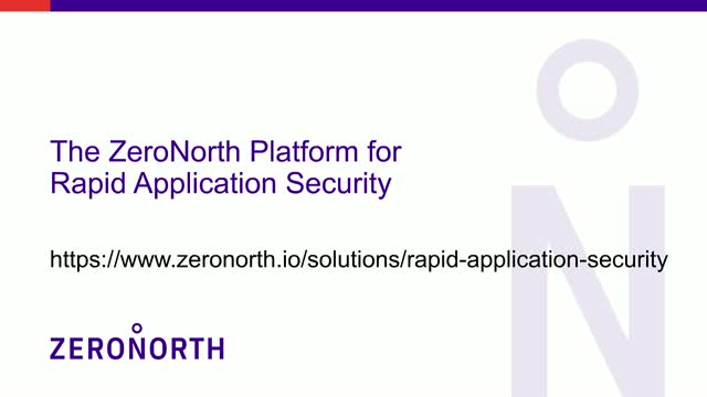 Achieve Rapid AppSec with Open Source Security (ZeroNorth demo, 6/17@1:00pm ET)