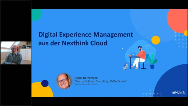Digital Experience Management aus der Nexthink Cloud