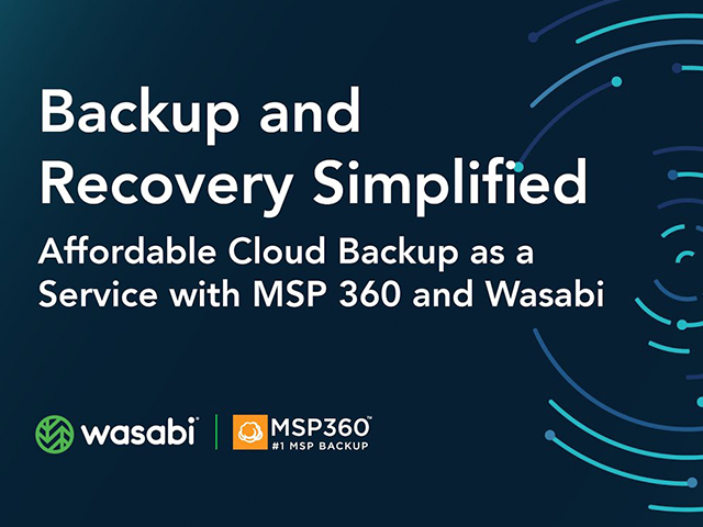 Backup and Recovery Simplified: Affordable Cloud Backup as a Service with MSP360