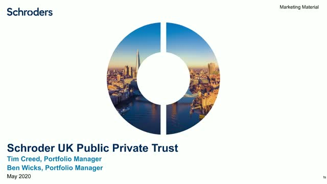 Schroder UK Public Private Trust Plc - for private investors
