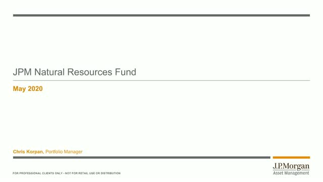 Bitesize 30-minute update: JPM Natural Resources Fund Webconference