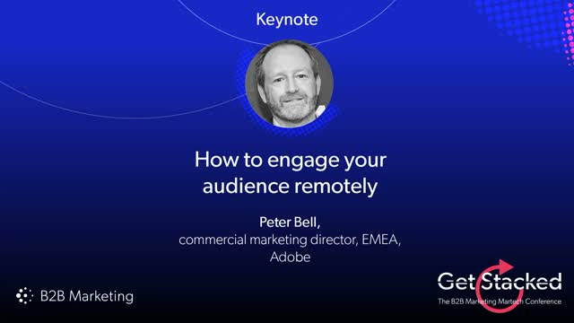 How to engage your audience remotely