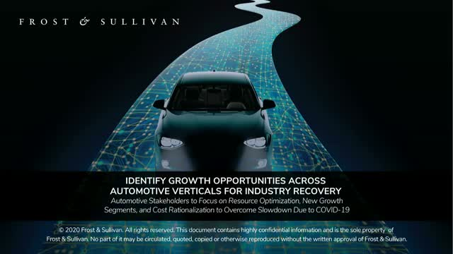 Identify Growth Opportunities Across Automotive Verticals for Industry Recovery