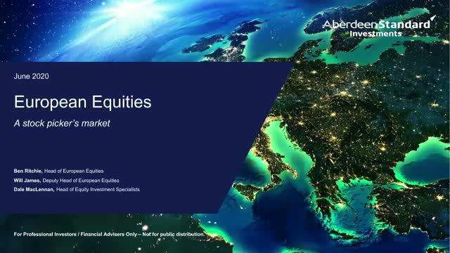 European equities: A stock picker's market