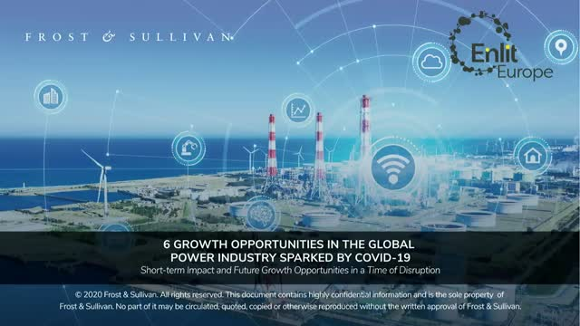 6 Growth Opportunities in the Global Power Industry Sparked by COVID-19