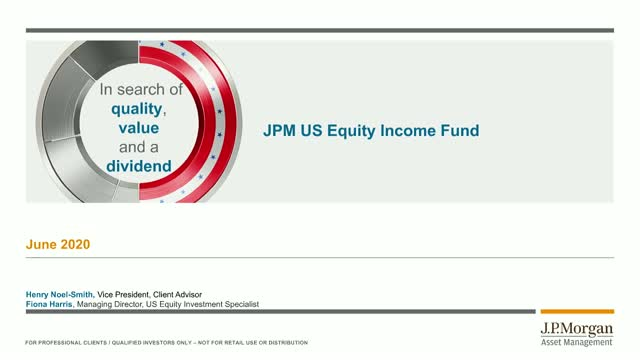 Bitesize update: JPM US Equity Income Fund