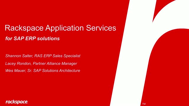 Running SAP applications more efficiently and effectively