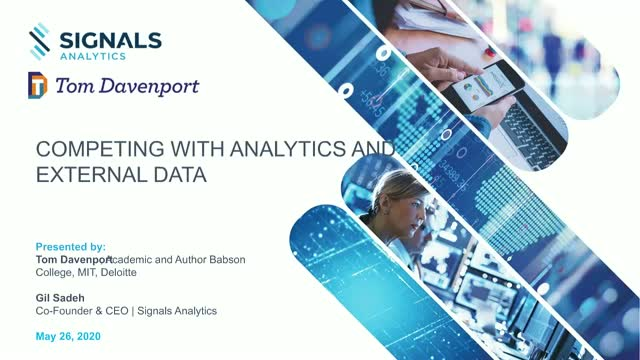 Competing with Analytics and External Data