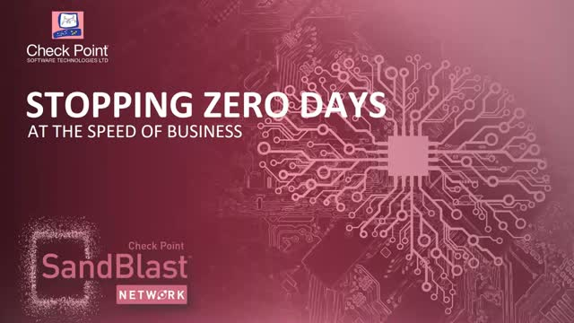Stop Zero-day Attacks at the Speed of Business