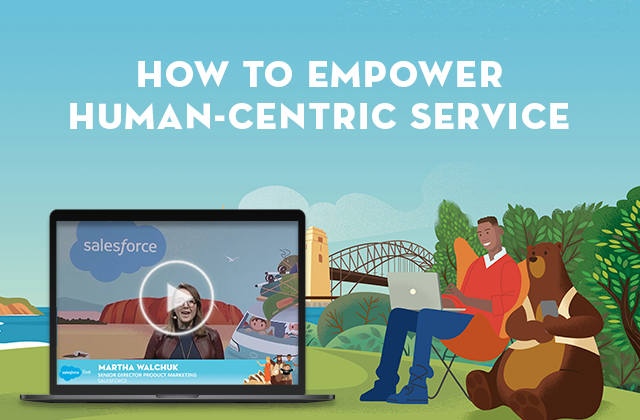 How to empower human centric service