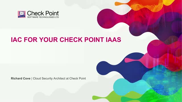 IaC for your Check Point IaaS