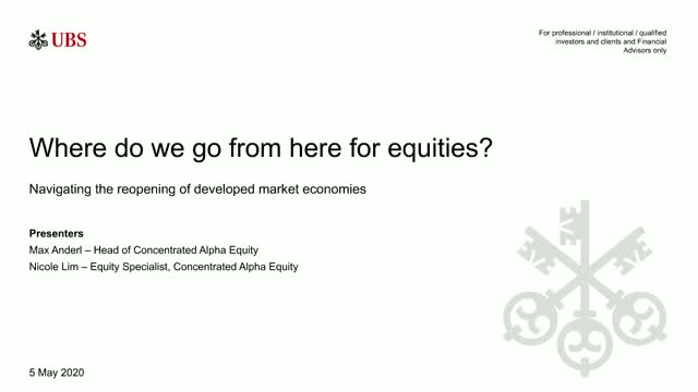 Where do we go from here for equities?