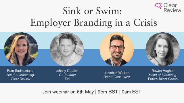 Sink or Swim | Employer Branding in a Crisis