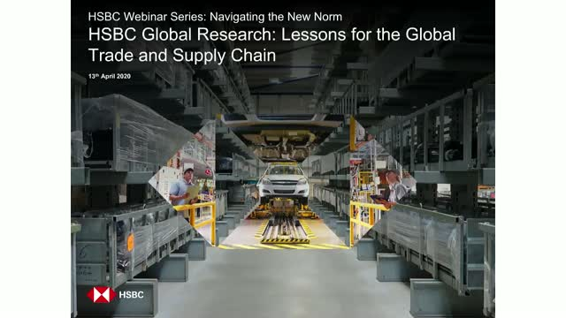 HSBC Global Research: Lessons for the Global Trade and Supply Chain