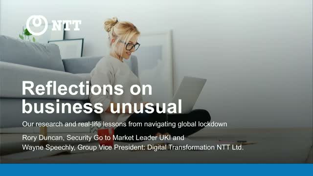 Reflections on Business Unusual: Lessons from Navigating Lockdown