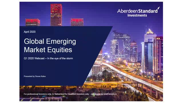 Global Emerging Market Equities Q1 2020 Update