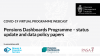 Pensions Dashboards Programme - Status Update and Data Policy Papers