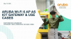 Aruba Wi-Fi 6 as IoT Gateway enables new value add & user experience services