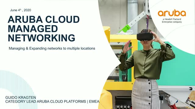 Managing and expanding networks to multiple locations