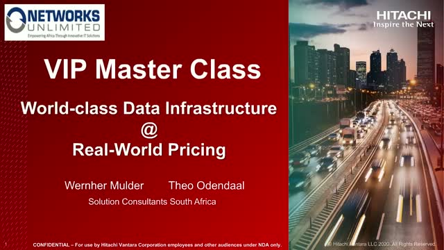 World-class data infrastructure