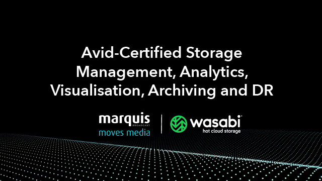 Avid-Certified Storage Management, Analytics, Visualization, Archiving and DR