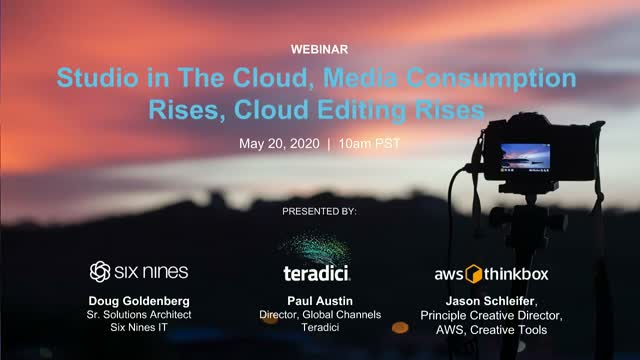 Studio in The Cloud, Media Consumption Rises, Cloud Editing Rises