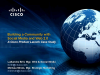 Building a Community w/Social Media and Web 2.0: Cisco Case Study