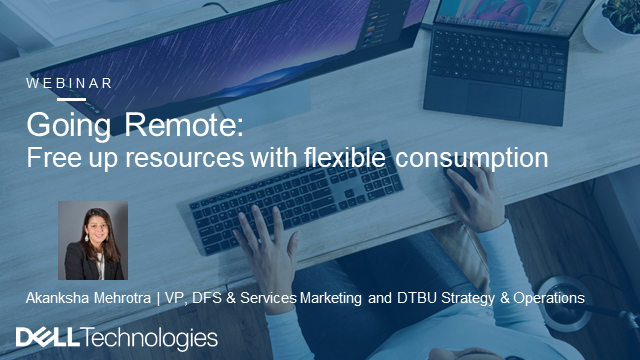 Going Remote: Free Up Resources with Flexible Consumption