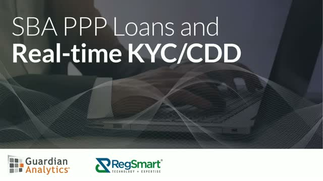 SBA PPP Loans and Real-time KYC/CDD
