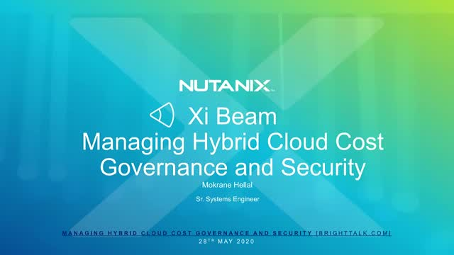 Managing Hybrid Cloud Cost Governance and Security