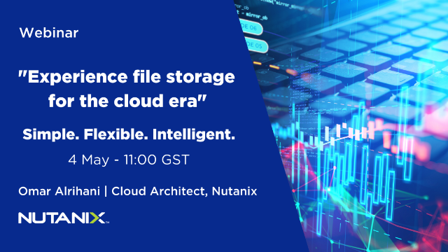Experience file storage for the cloud era with Nutanix Files