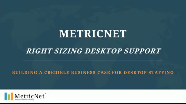 Rightsizing Desktop Support and Field Services | Staffing Ratios