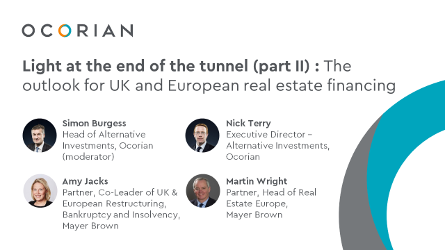 Light at the end of the tunnel (part II): Outlook for UK/European real estate