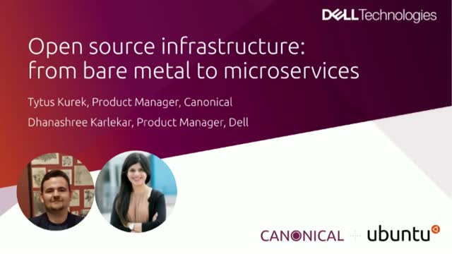 Open source infrastructure: from bare metal to microservices