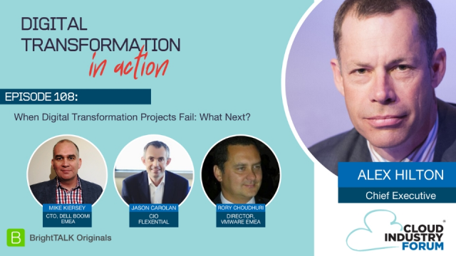 When Digital Transformation Projects Fail: What Next?