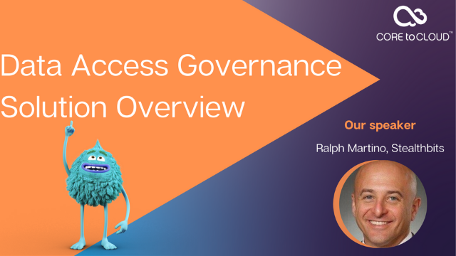 Data Access Governance Solution Overview